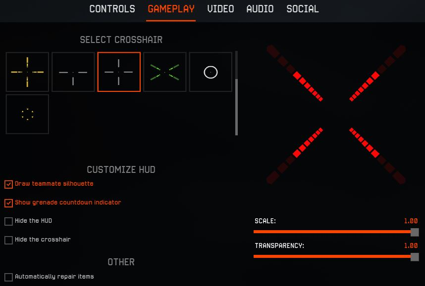 Controls tuning | WARFACE