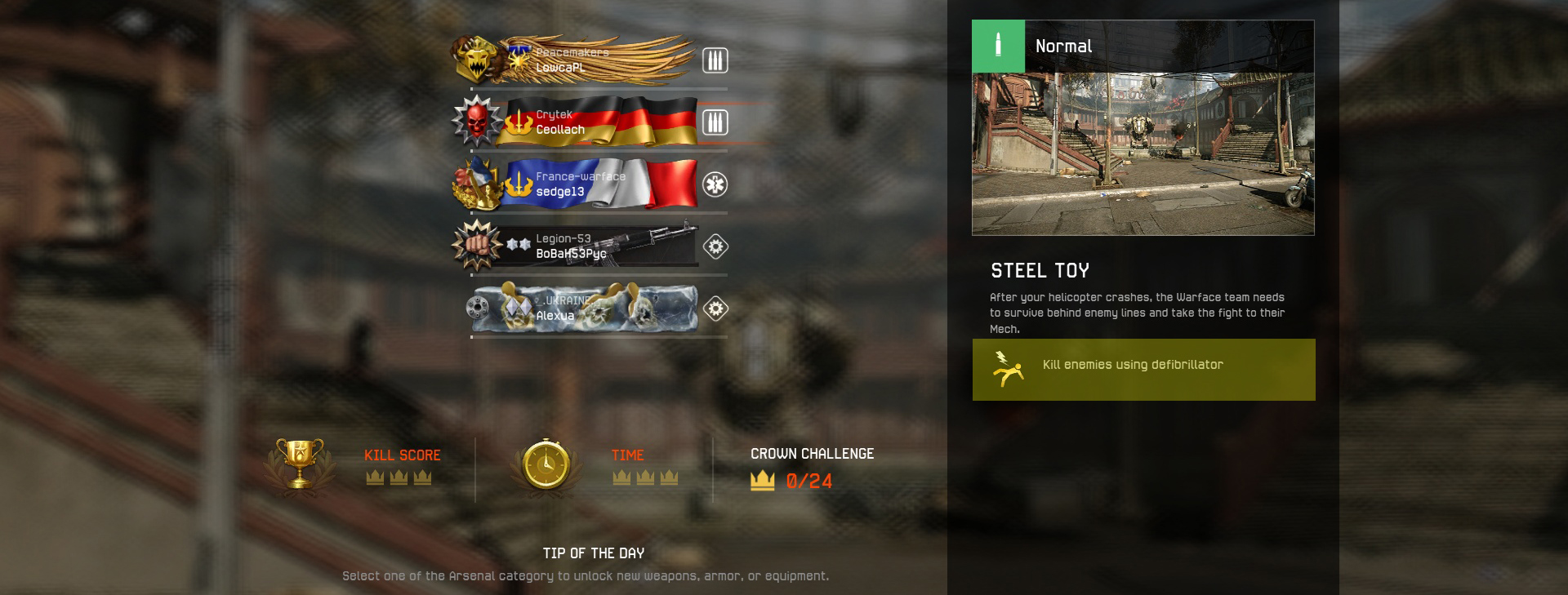 Earning game currency   WARFACE