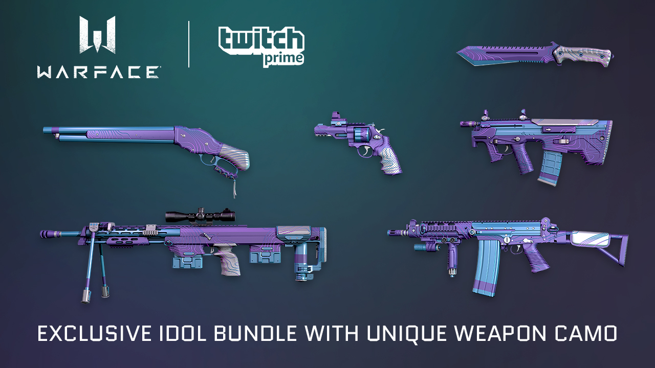 Idol Bundle for Twitch Prime Members | WARFACE