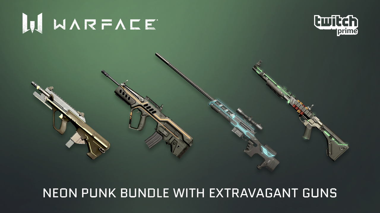NeoN Punk Bundle for Twitch Prime members | WARFACE