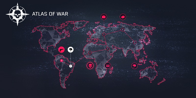 "Global Operation showcase – ""Atlas of War""   WARFACE"